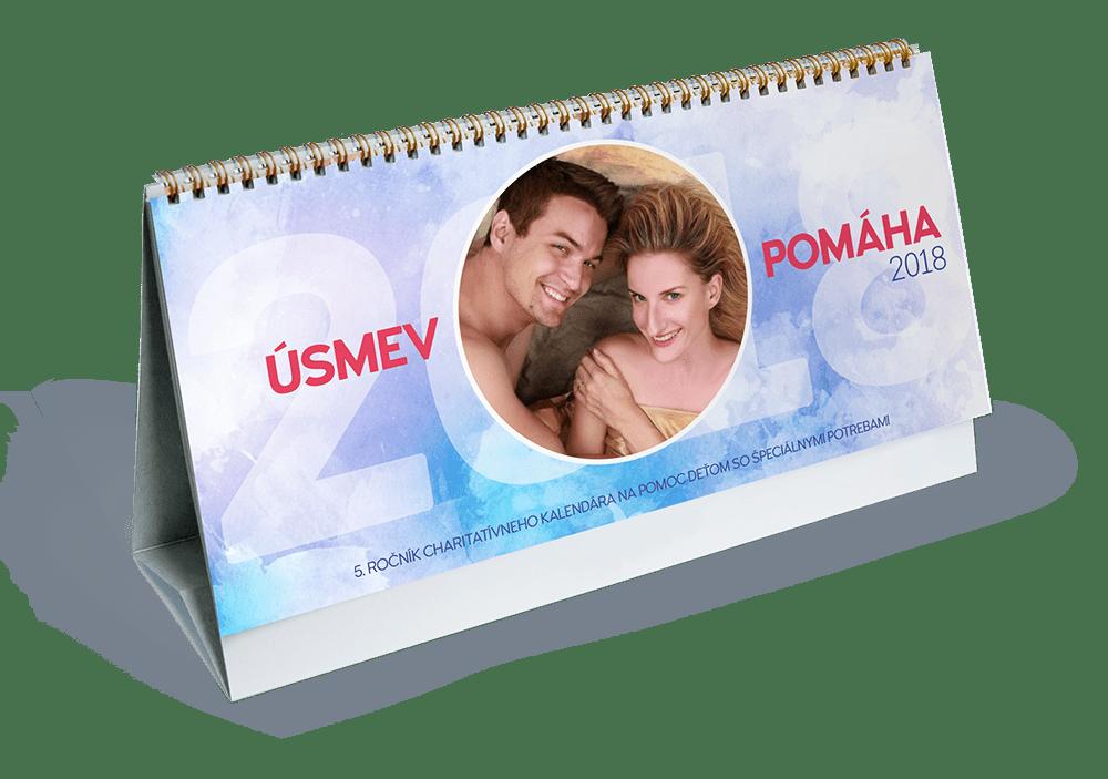Kalendár Úsmev pomáha 2018