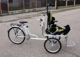 Bicykel na prepravu chorého alebo starého človeka